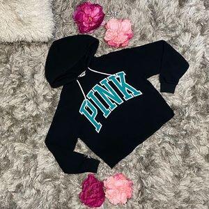 PINK VS Logo Hoodie Women size XS